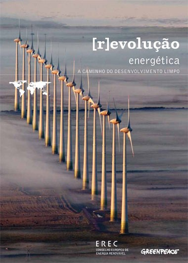 A capa do relatório do Greenpeace
